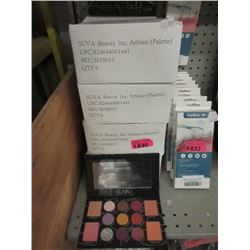 24 New Suva Artisan Eye Shadow & Blush Palettes