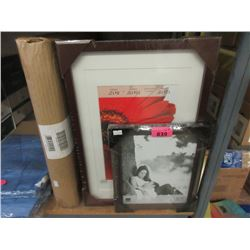 3 Boxes of Assorted New Picture Frames