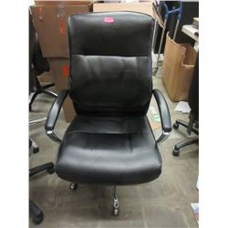 Black Executive Office Chair on Casters