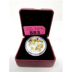 2012 1 Oz. Fine Silver NIUE $2 Koi Fish Coin