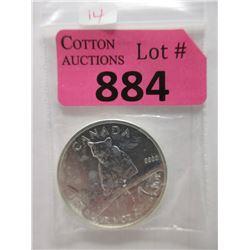 2012 Canadian 1 Oz. Fine Silver Cougar Coin