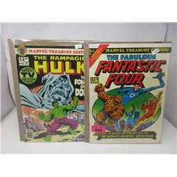 1974 Marvel Treasury Edition #2 and #20