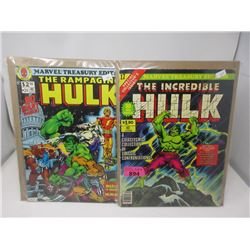 1978 & 1979 Marvel Treasury Edition #17 and #24