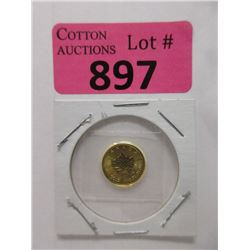 1/10 Oz. Canadian .9999 Gold 2020 Maple Leaf Coin