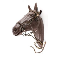 Walla Wall Prison Hitched Horsehair Bridle C 1930s