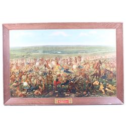 Custer's Last Fight by Anheuser-Busch Framed Print
