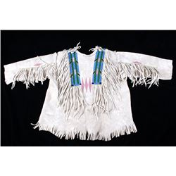 Plateau Indian Beaded Boy's First War Shirt 1890's
