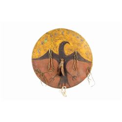 Ghost Dance Shield from Lakota Sioux 1890