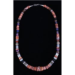 Navajo Tommy Singer Spiny Oyster Necklace