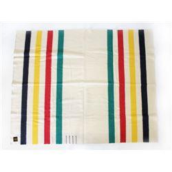 Hudson Bay Company Four Point Witney Wool Blanket