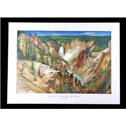 Carl Tolpo Yellowstone Park c. 1953 Litho's (25)