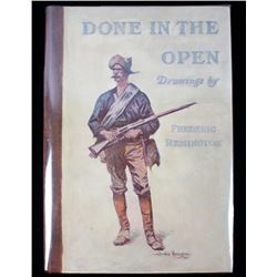 """1902 Frederic Remington """"Done In The Open"""""""