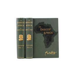 In Darkest Africa by Henry M. Stanley circa 1891