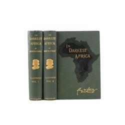 In Darkest Africa by Henry M. Stanley circa 1891