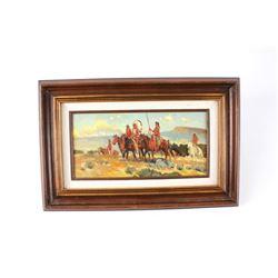 Original Sheryl Bodily (Montana 1936) Oil