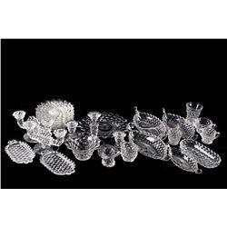 Fostoria American Glass 28 Piece Set Collection