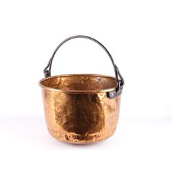 1890's Dovetail Copper Confectionary Kettle Pot