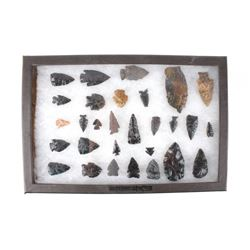 Transitional Paleo Period Point Framed Collection