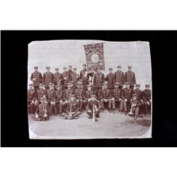 1905 10th Annual S. Dakota Fireman Silver Gelatin