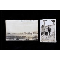 19th C. Deer Lodge Montana Prison Photo & Postcard