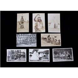 Real Photo Postcards, Native American c. 1900's