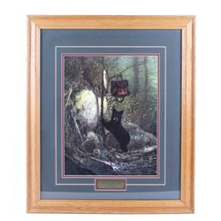 """Catch of the Day"" Michael Coleman Framed Print"