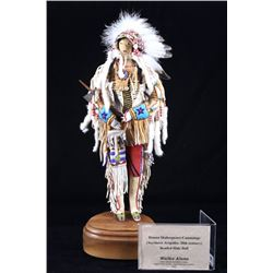 Northern Arapaho Extremely Fine Beaded LARGE Doll