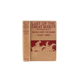 Last of the Great Scouts by Helen C. Wetmore 1899