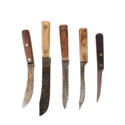Early American Indian Trade Knives c. 19th Century