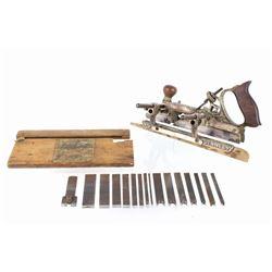 1890's Stanley #45 Adjustable Combination Plane