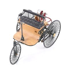 Franklin Mint 1:8 Scale Model 1886 Benz