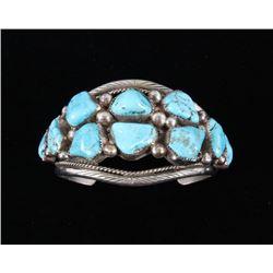 Navajo Tommy Moore Sleeping Beauty Bracelet