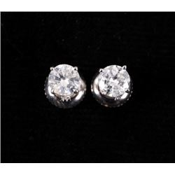 Brand New Diamond Stud 14K Earrings