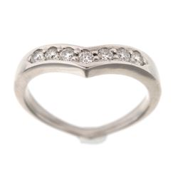 Tiffany & Co. VVS-2 Diamond Platinum Ring