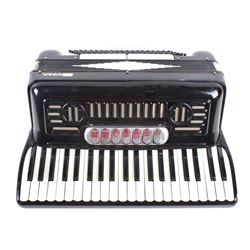 Duma Piano Accordion With Carry Case C. Late 1900s