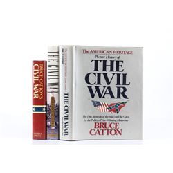 Collection of Three 20th C Civil War History Books