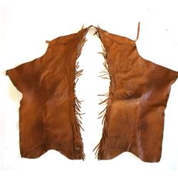Gerald Roberts Chap-Panel Western Leather Chaps