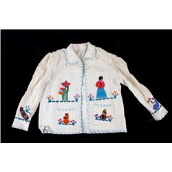 Late 19th C. Handmade Mexican Child's Jacket