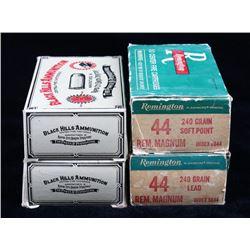 Mixed .44 Caliber Ammunition Collection