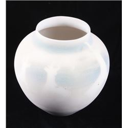 Native American Antelope Polychrome Pottery Jar