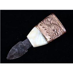 Jonathan Crookes Sheffield Wax Knife c. 1780-1827