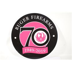 Ruger Firearms 70 Year Advertising Sign