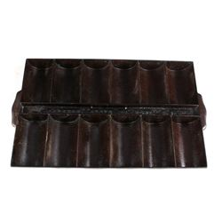 Vintage Cast Iron French Roll Pan, Barstow Stove