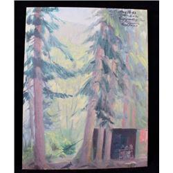 Original 1962 Carl Tolpo Endo Valley Camp Colorado
