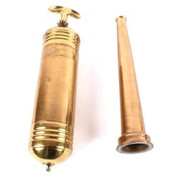 Brass Fire Hose Nozzle & Brass Fire Extinguisher