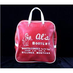 Al's Bootery Boot Bag Billings Montana