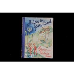 1949 A Day in Fairy Land Story by Sigrid Rahmas
