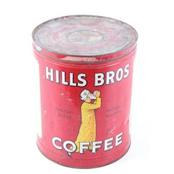 Hills Bros Coffee Red Can Brand Tin C. 1939