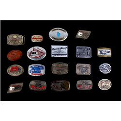 SnapOn Belt Buckle Collection circa 1980 - Present
