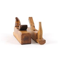 Personal Bench and Concave Sole Wooden Planes